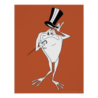 Michigan J. Frog Happy Poster