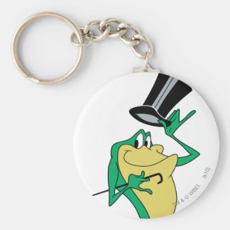 Michigan J. Frog in Color Basic Round Button Keychain
