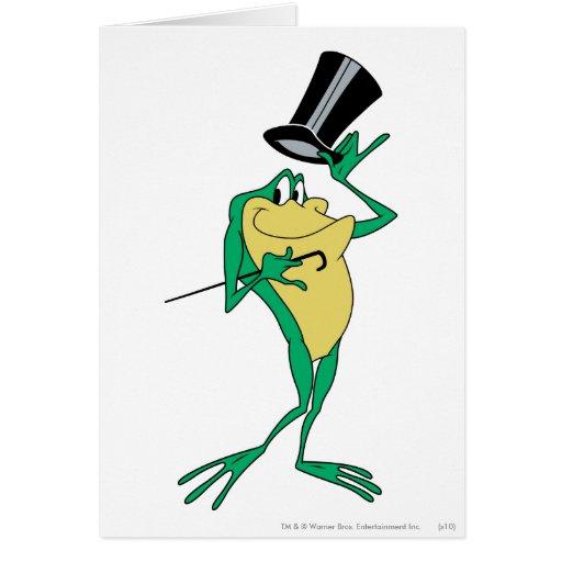 Michigan J. Frog in Color Card