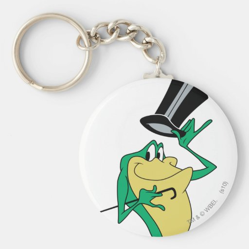 Michigan J. Frog in Color Keychains