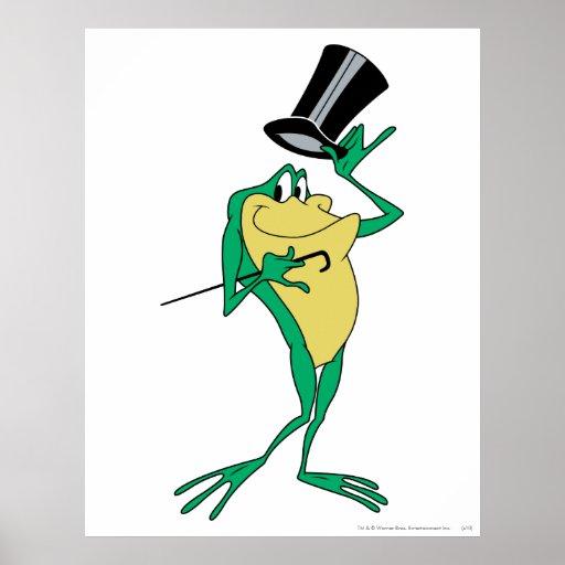 Michigan J. Frog in Color Poster