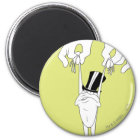 Michigan J. Frog with Help Magnet