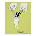 Michigan J. Frog with Help Poster