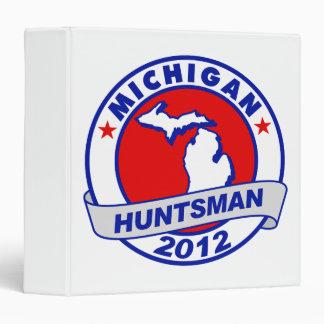 Michigan Jon Huntsman Binder