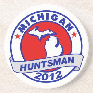 Michigan Jon Huntsman Coasters
