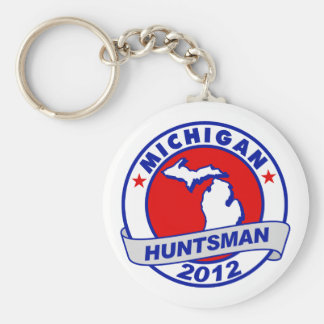 Michigan Jon Huntsman Key Chains