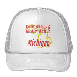 Michigan - Kickin' Butt Trucker Hat