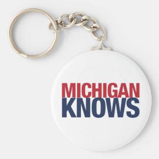 Michigan Knows Keychain