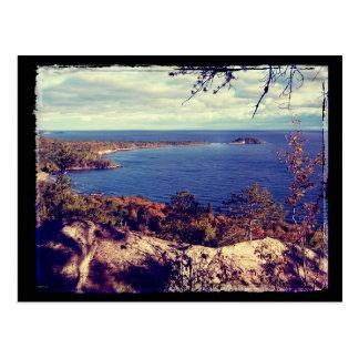 Michigan Lake Superior Scene Post Card