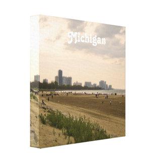 Michigan Landscape Gallery Wrap Canvas