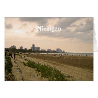 Michigan Landscape Greeting Card