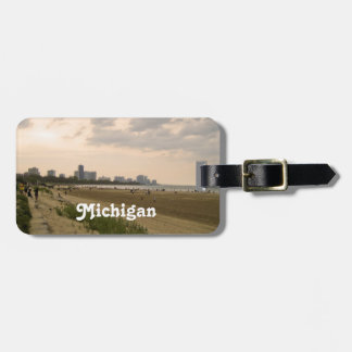 Michigan Landscape Tag For Bags