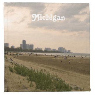 Michigan Landscape Printed Napkin