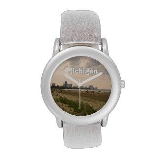 Michigan Landscape Wrist Watch