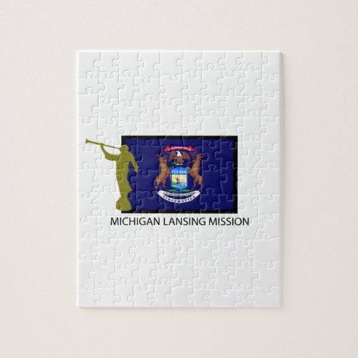 MICHIGAN LANSING MISSION LDS CTR PUZZLE