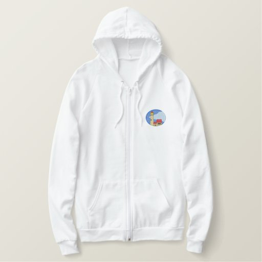 Michigan Lighthouse #1 Embroidered Hoodie