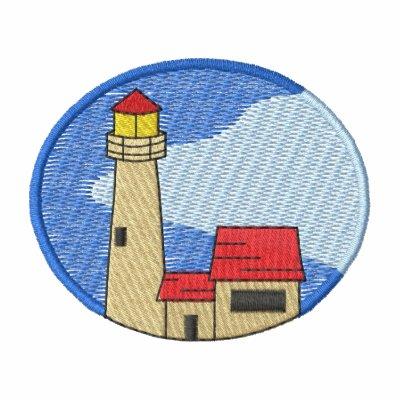 Michigan Lighthouse #1 Embroidered Polo Shirt