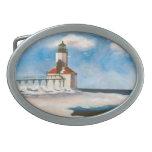 Michigan Lighthouse Belt Buckle