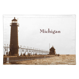 Michigan Lighthouse Placemat