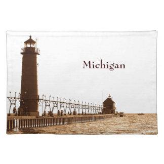 Michigan Lighthouse Placemat