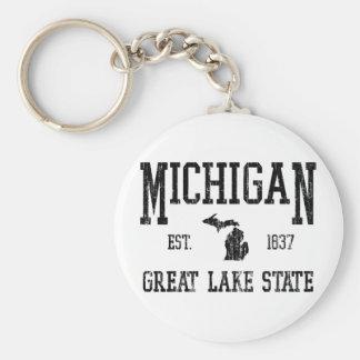 Michigan Llaveros Personalizados