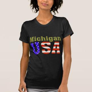 ¡Michigan los E.E.U.U.! Playera