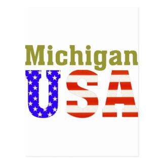 ¡Michigan los E.E.U.U.! Tarjetas Postales