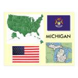 Michigan, los E.E.U.U. Tarjetas Postales