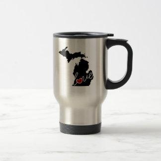 Michigan Love!  Gifts for MI Lovers Travel Mug