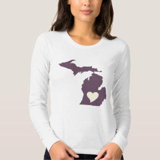 Michigan Love Tee Shirt