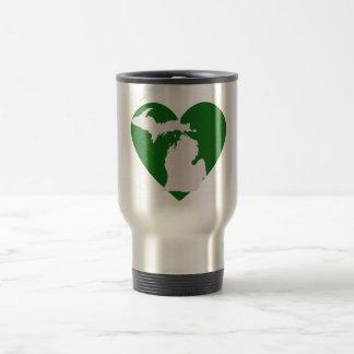 Michigan Love Travel Mug