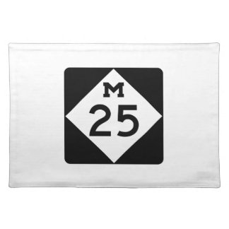 Michigan M-25 Cloth Placemat