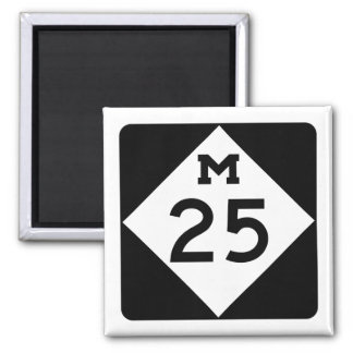 Michigan M-25 Magnet