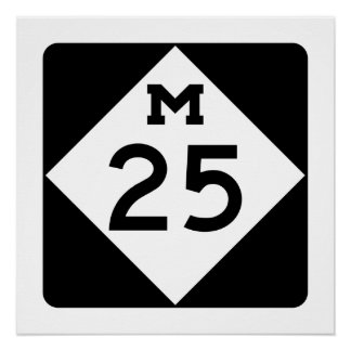 Michigan M-25 Poster