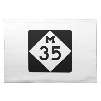 Michigan M-35 Placemat