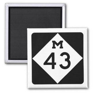 Michigan M-43 Imán Cuadrado