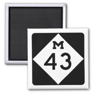 Michigan M-43 Magnet
