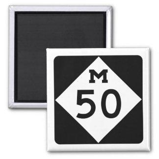 Michigan M-50 Magnet