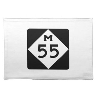 Michigan M-55 Cloth Placemat