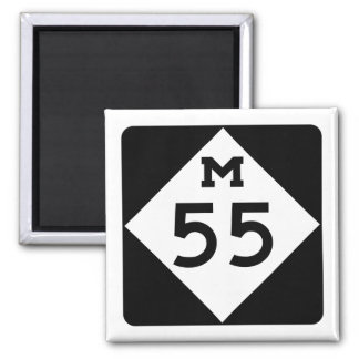 Michigan M-55 Magnet