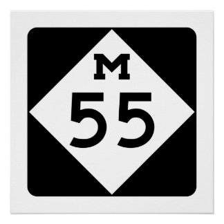 Michigan M-55 Poster