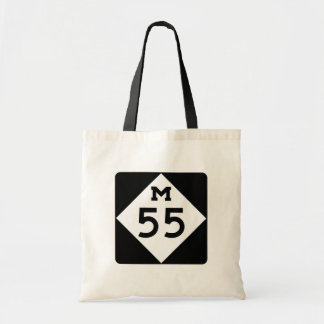 Michigan M-55 Tote Bag