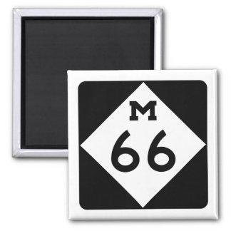 Michigan M-66 Magnet