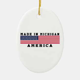 Michigan Made In Designs Christmas Ornament