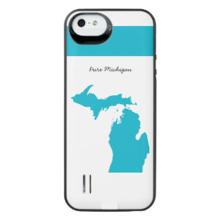 Michigan Map Any Color iPhone Case