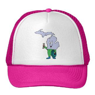 Michigan MI Vintage Travel Souvenir Mesh Hat