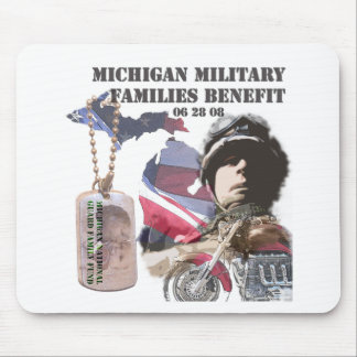 Michigan Military Families Benefit Mouse Pad