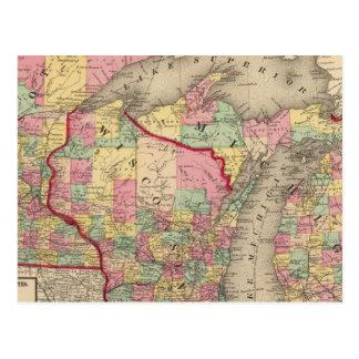 Michigan, Minnesota, y Wisconsin 2 Postal