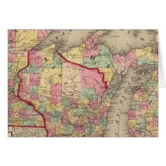 Michigan, Minnesota, y Wisconsin 2 Felicitación