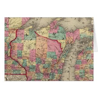 Michigan, Minnesota, y Wisconsin Felicitacion